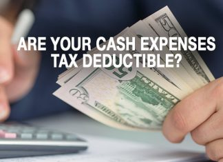 are your cash expenses tax deductible?