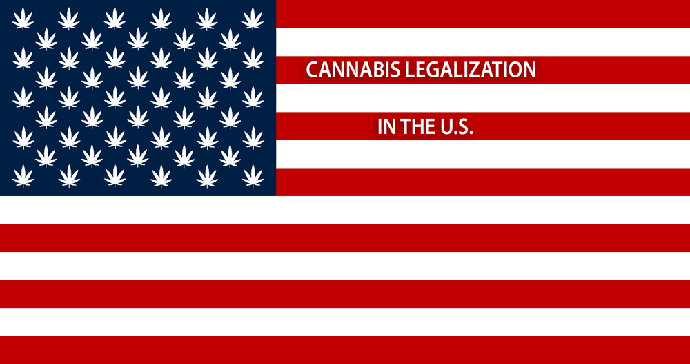 Recreational marijuana state laws